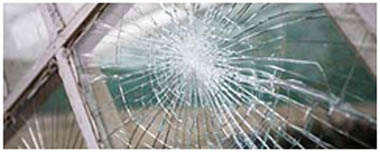 Hamilton Smashed Glass